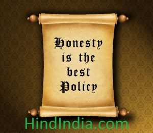 Honesty is the best policy very short moral story in hindi language hindindia images wallpapers ईमानदारी सर्वोत्तम नीति है
