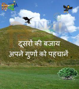 Interesting story in hindi Hawk and Crow funny moral motivational HindIndia images wallpapers Best Hindi motivational blog